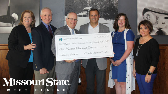 OMC Leaders donate to President Smart, Chancellor Lawler and Academic Dean Lancaster