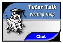 Tutor Talk for Writing Help