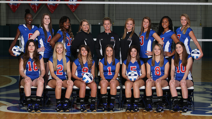 2015 Grizzly Volleyball Team