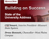 Raising the Profile: The 2014 State of the University/Campus Address