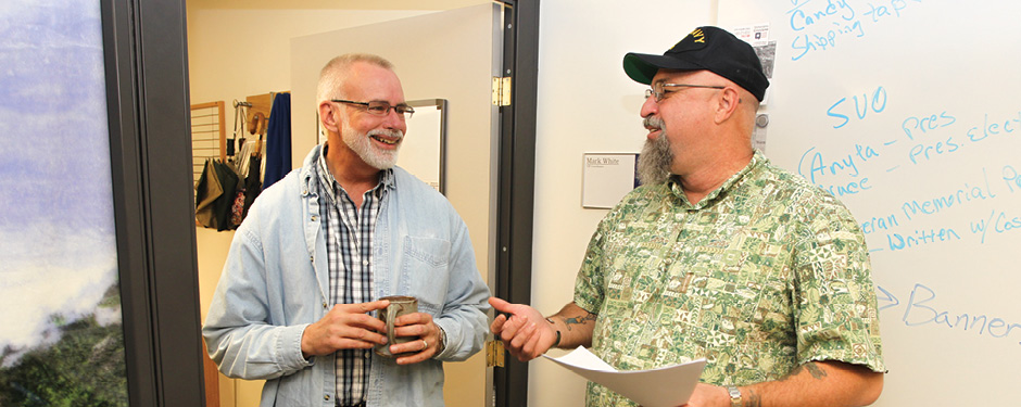 The Veterans Center provides assistance to current and former military veterans and their dependents.