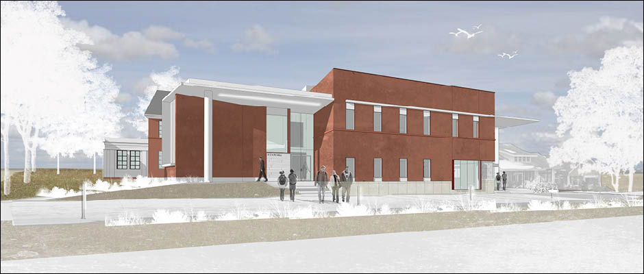 Work continues on the new Missouri State Outreach building, Gohn Hall. Click to see the live view.
