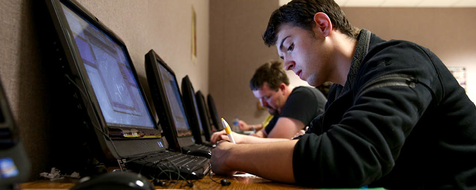 The Grizzly Tutoring Lab offers students free study help in a variety of subjects.