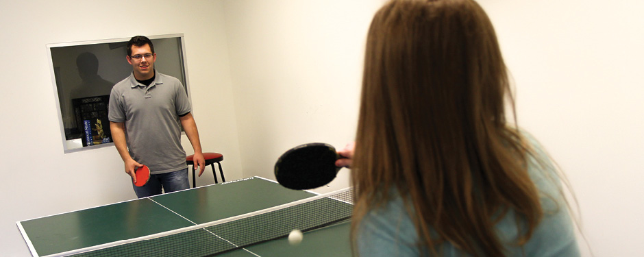 Play a pick-up game of ping pong at Putnam Student Center!