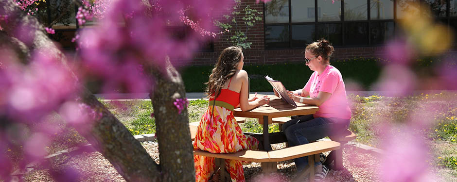 The campus' inviting environment promotes student success.